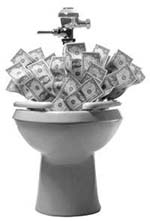 money_down_toilet